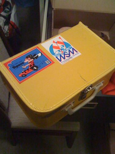 Min gamla Monchhichi-väska