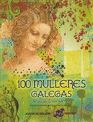 Portada del libro '100 mulleres galegas. Artistas emerxentes', editado por la Xunta de Galicia.