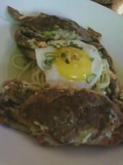Crab & egg