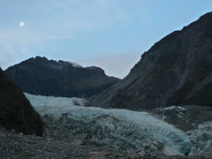 Blue Ice of Fox Glacier