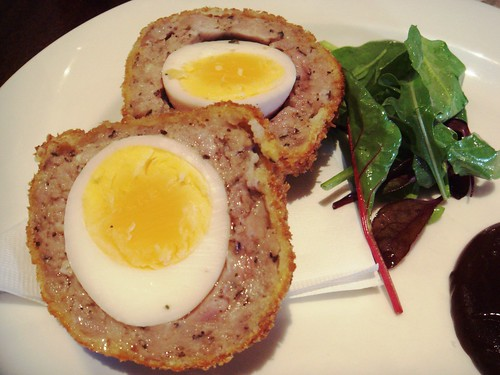 The Narrow - Scotch Egg with HP Sauce £3.00