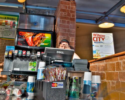 Subway Cashier