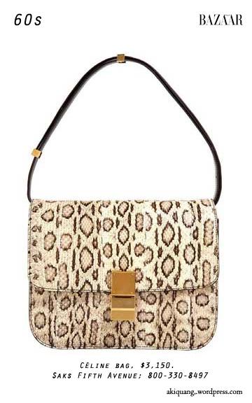 Céline bag, $3,150