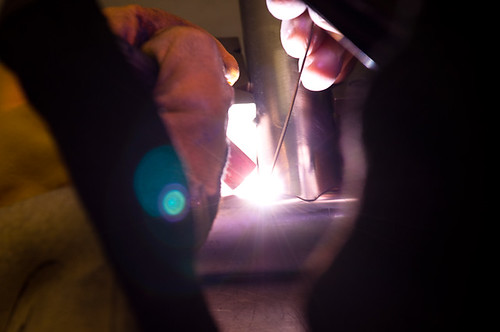TIG welding by humbert15, on Flickr