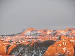Panorama Overlook: Badlands Sunset