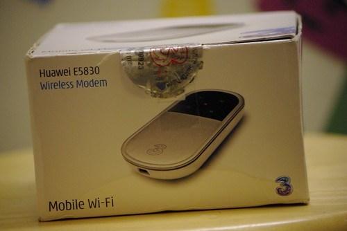 Huawei 3G Mi-Fi unit