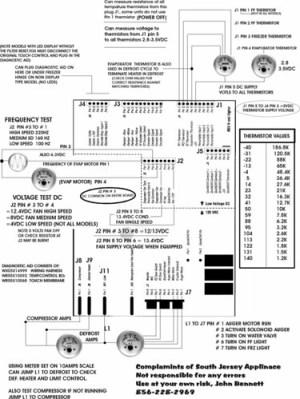 GE Arctica Refrigerator Troubleshooting Tech Sheet