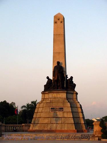 Rizal Monument in Luneta Park 2
