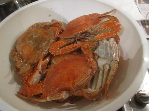Crab & Snapper pasta