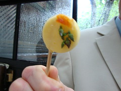 Cocktail Hour:  Selection of Lollipops