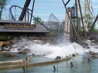 Cedar Point - Shoot the Rapids Testing
