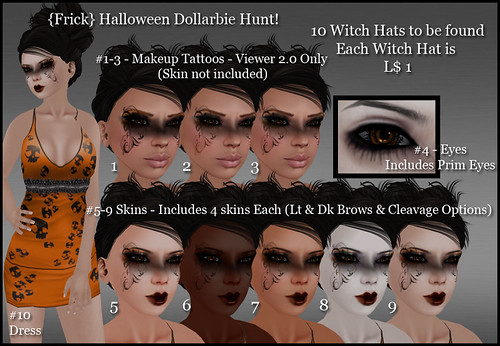 Frick - Halloween Dollarbie Hunt