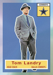 1956 eTopps Tom Landry