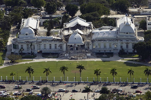 Haitian Presidential Palace Severely Damaged by Quake