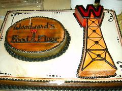 WOODWARD'S FOOD FLOOR CAKE