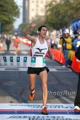Antonio Vega Maraton Houston