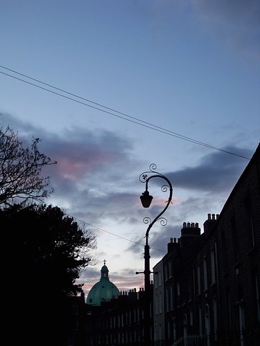 clouds over Rathmines and Ranelagh