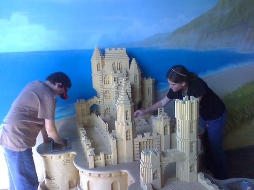No-Mess Sand Castle