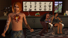 3/30/10 - 2 new pics from The Sims 3 Ambitions