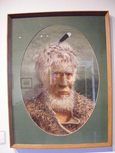 Maori Face 2