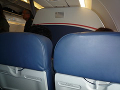 US Airways A321 Interior