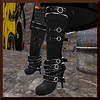 Divine Aura Boots in Black, by Yuli