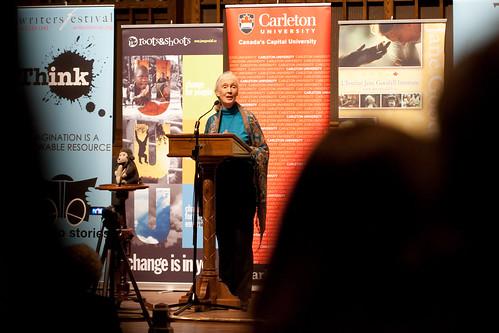 Jane Goodall at the Ottawa Writer's Festival