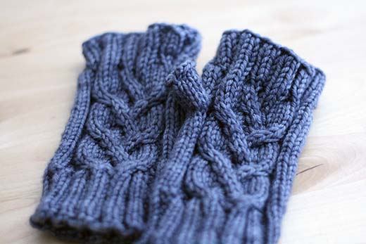 Evangeline Fingerless Mitts