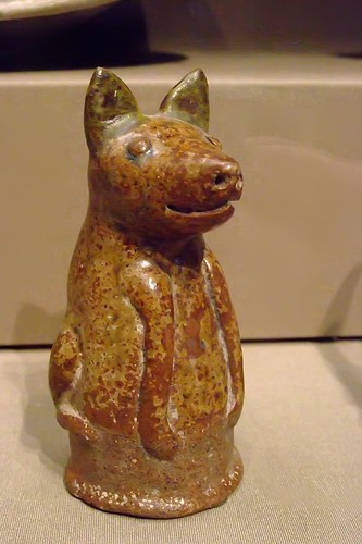 Dog Thailand Si Satchanalai 1450-1650 CE Glazed Stoneware