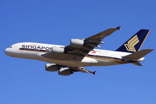 Singapore Airlines A380-800(9V-SKF)