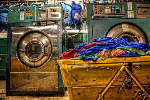 Hotel Laundry Room in HDR