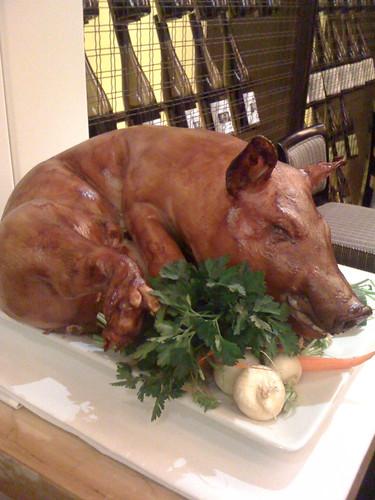 Roasted Pig.