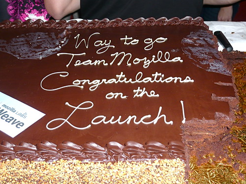 Firefox 3.6 Cake