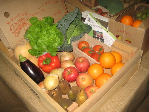 Organic vegetable Boxes by AndyRobertsPhotos