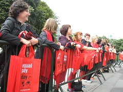 Pay Equity procession to Parliament