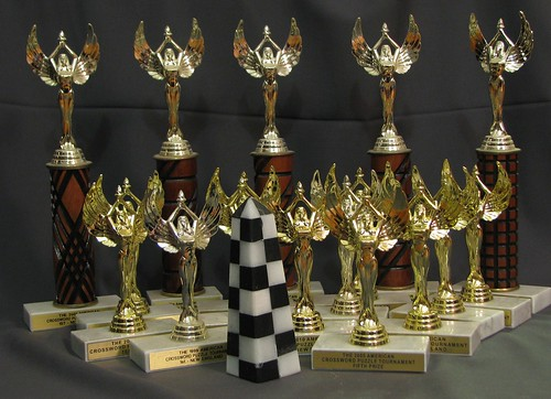 A dozen years of trophies