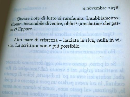 Roland Barthes, Dove lei non è, Einaudi 2010; p. 215 (part.), 1