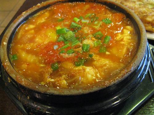 soft tofu soup