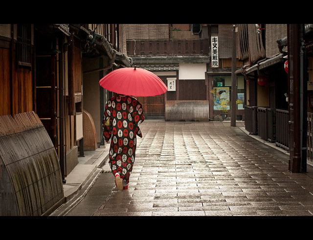 """Rainy Morning In Kyoto"" - by Jonathan Fleming"