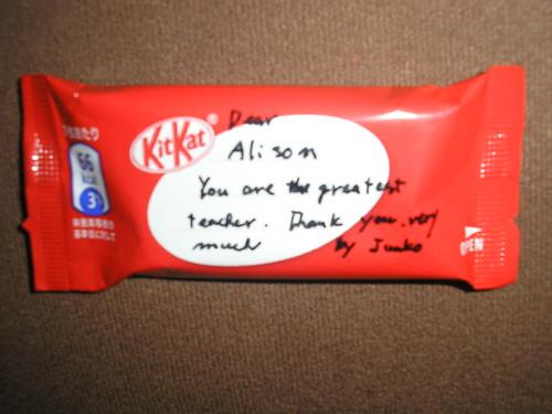 Kit Kat from Junko
