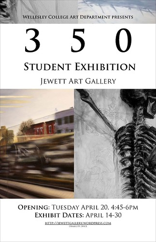 350 Student Exhibition Poster
