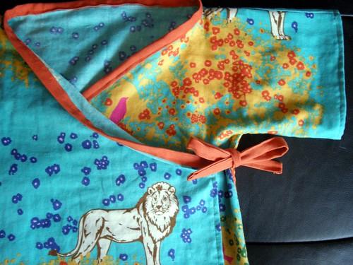 Lion Kimono - Detail