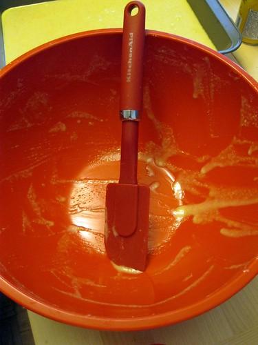 Bowl...Scraped (Almost) Clean...
