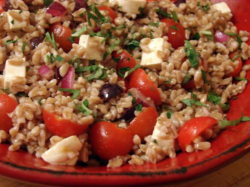Summer Farro Salad