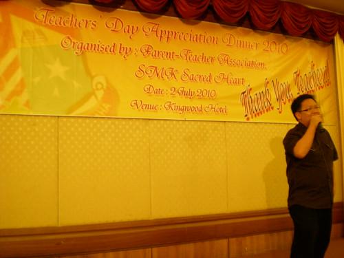 SHS Teachers' Day dinner 2010 7