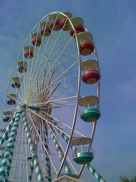 Ferris Wheel, Plage du Prado, Marseilles