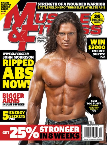 john morrison en la portada de muscle amp fitness superluchas