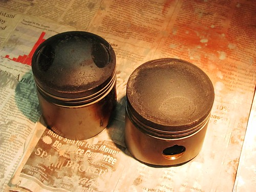 Carbon Build Up on Pistons