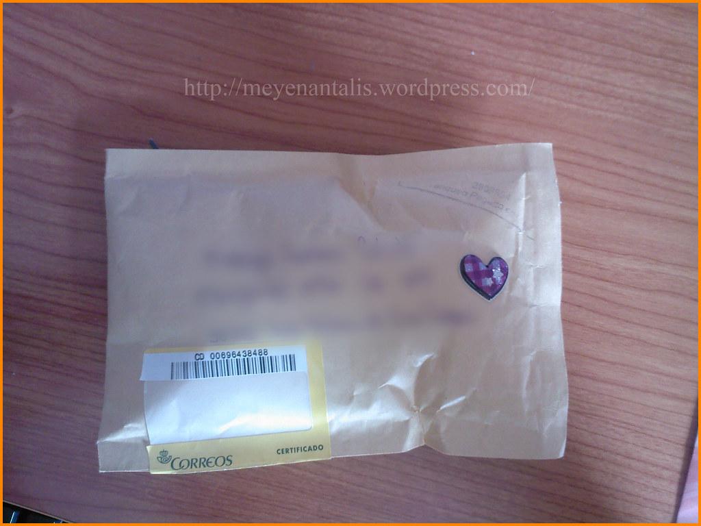 Un paquete! =O