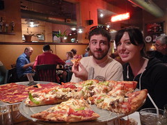 Jennie & Perry at Waldo Pizza